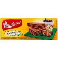 Biscoito Bauducco Wafer Chocolate/Avela 140g