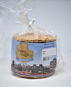 Biscoito Happy Waffles Recheio Caramelo 330g