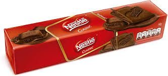 Biscoito Nestle Classic Chocolate 140g
