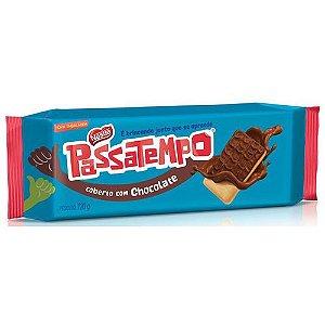 Biscoito Nestle Passatempo Cobertura Chocolate 120g