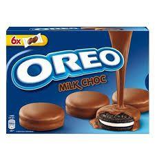 Biscoito Oreo C/Cobertura Chocolate Ao Leite 246g