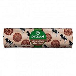 Biscoito Piraque Leite Maltado Chocolate 160g