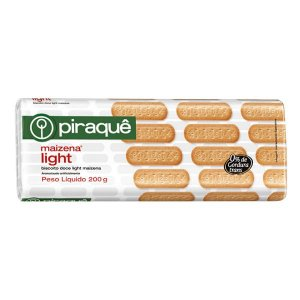 Biscoito Piraque Maizena Light 200g