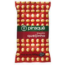 Biscoito Piraque Queijinho 100g