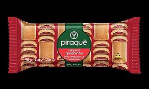 Biscoito Piraque Roladinho Goiabinha 75g