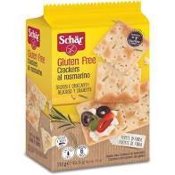 Biscoito Schar Crackers Al Rosmarino 210g