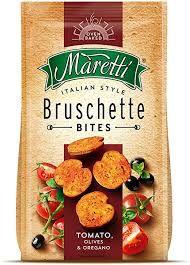 Bruschette Maretti Tomate, Azeitona e Orégano 90g