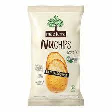 Chips Mãe Terra Orgânica Batata Rústica 32g