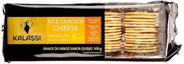 Snack Tailandês Kalassi sem Glutén Rice Cracker Cream Cheese 100g