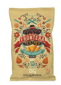 Tortilla Chips Frontera Sal 125g