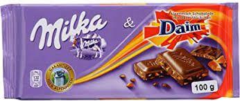 Chocolate Milka Daim 100g