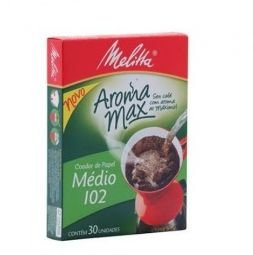 Filtro Papel Melitta N102 C/30Un