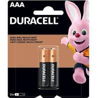 Pilha Alcalina Duracell Palito AAA C/2Un