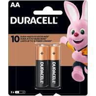 Pilha Alcalina Duracell Pequena C/2Un