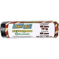 Saco Lixo Dover Roll Reforcado 50 litros C/20Un