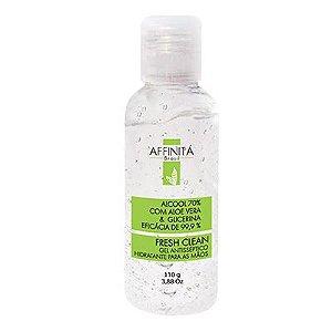 Álcool Gel Affinita Fresh Clean Aloe Vera+Glicerina 110g