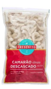 Camarão Cinza Frescatto Descascado 91/110 400g