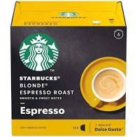 Cápsulas Café Starbucks Blonde Espresso Roast C/12 66g