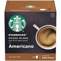 Cápsulas Café Starbucks Espresso Roast C/12 66g