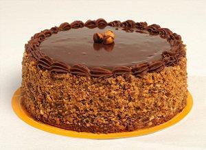 Torta de Chocoavelã Diet - Aro 18