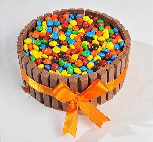 Torta de Kit Kat - Aro 18