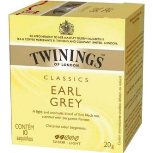 Chá Preto Twinings Classics Earl Grey 20g