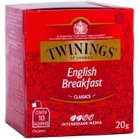 Chá Preto Twinings Classics English Breakfast 20g
