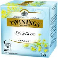Chá Twinings Infusions Erva Doce 20g