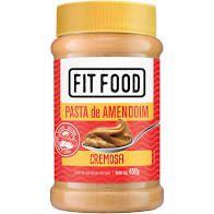 Pasta de Amendoim Fit Food Integral Cremosa 450g