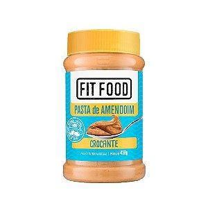 Pasta de Amendoim Fit Food Integral Crocante 450g