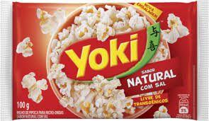 Pipoca Microondas Popcorn Yoki C/Sal 100g