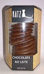 Chocolate Katz Pastilha Menta Chocolate Ao Leite 100g