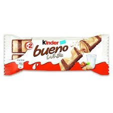 Chocolate Kinder Bueno Wafer White 39g