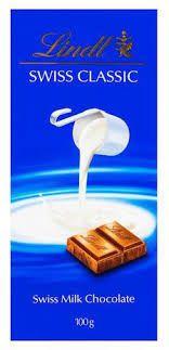 Chocolate Suiço Lindt Classic Milk 100g