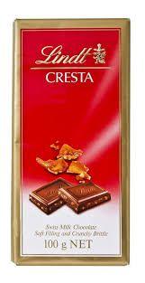 Chocolate Suico Lindt Cresta 100g