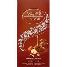 Chocolate Suico Lindt Lindor Hazelnut 100g