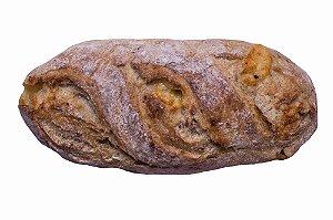 Pão Rústico Calabresa/Provolone Assado e Congelado com 2 unidades