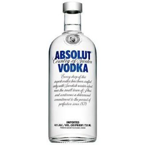 Vodka Sueca Absolut Natural 750ml