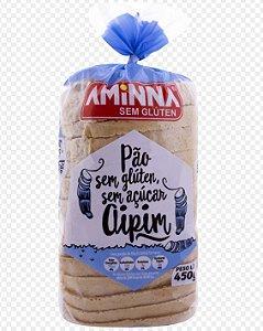Pão Aminna Aipim Sem Açúcar Sem Glúten Congelado 450g