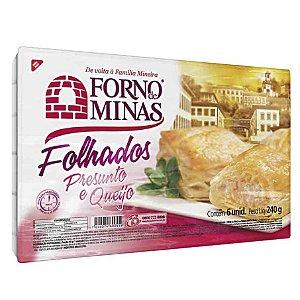 Folhado Forno De Minas Queijo/Presunto Congelado 240g