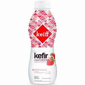Kefir Keiff Desnatado Morango 500g