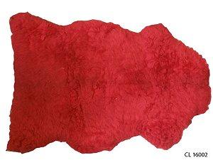 Pelego Natural Vermelho