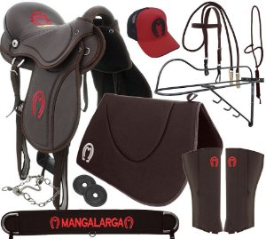 Sela Mangalarga Marchador Soft Marrom Kit Marrom