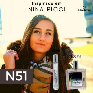 Perfume Tulipa Negra N 51 - Nina Ricci