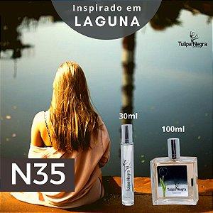 Perfume Tulipa Negra N 35 - Laguna