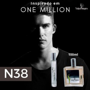 Perfume Tulipa Negra N 38 - One Million