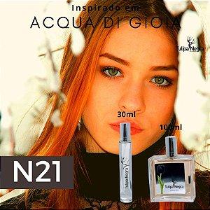 Perfume Tulipa Negra N 21 - Acqua di Gioia