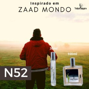 Perfume Tulipa Negra N 52 - Zaad Mondo
