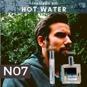 Perfume Tulipa Negra N 07 - Hot Water