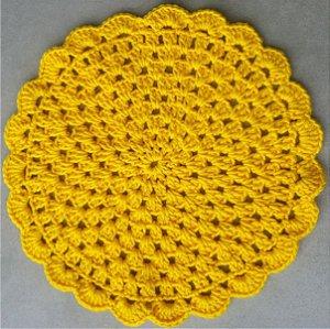 Sousplat Amarelo